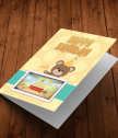 Augmented reality card birthday with Winnie