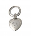 Engraved Keychain Heart