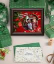 Колаж Нашата първа Коледа заедно