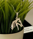 Women's Silver Necklace Knight