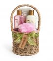 Подаръчен комплект Natural Oil 5 части с розова шипка и авокадо