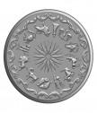 Сребърен медальон за зодия Козирог