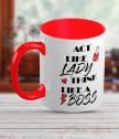 Керамична чаша за жена-шеф