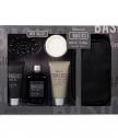 Луксозен мъжки козметичен комплект, 6 части