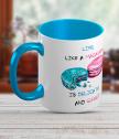 Керамична чаша с макарон