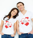 T-shirts for lovers my God and my Goddess