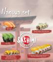 Нагоя сет - подарък ваучер за почитатели на сушито