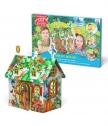 Kъщичка за игра, сглобяване и оцветяване FOREST 3D