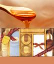 Raphael Rosalee луксозен комплект 7 части ванилия и мед Bella 081