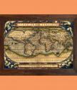 Ретро карта Тypus Orbis Terrarum