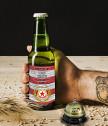 Бира с персонализиран етикет ЦСКА и звънец за бира