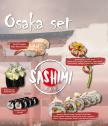 Осака сет - подаръчен ваучер за любители на сушито