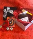 Персонализиран любовен комплект с течен шоколад