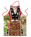 Apron for cooking folk costume