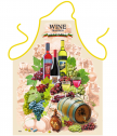 Apron for cooking wine