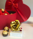 Подарък за жена - комплект Червено сърце
