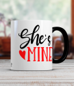 Керамична чаша за нея