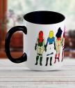 Керамична чаша с жени супер герои