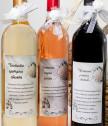 Сватбена кошница с 3 вина и грамота