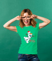 Комплект тениски Весела Коледа с Олаф