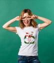Комплект тениски Весела Коледа с ваш текст