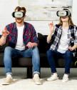 VR BOX висок клас Google Cardboard Headmount 3D Очила
