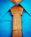 Вратовръзка от дърво