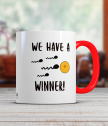 Керамична чаша Победител